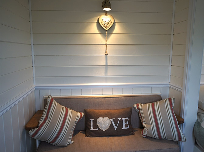 Relax in Our Cosy Shepherd Hut
